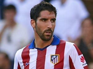Raul Garcia for Atletico Madrid on October 4, 2014