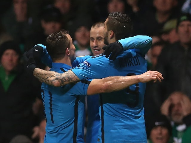 Result: Late Guidetti volley saves Celtic