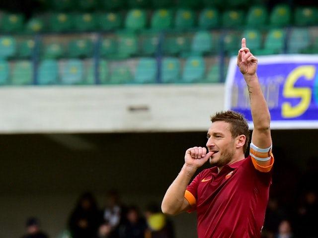 Francesco Totti plays last game for Roma