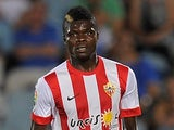 Thomas Partey for Almeria on August 29, 2014