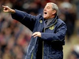 Everton manager Walter Smith during the FA Carling Premiership game against Wimbledon at Selhurst Park on October 3, 1998