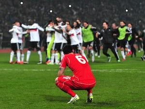 Liverpool eliminated on penalties