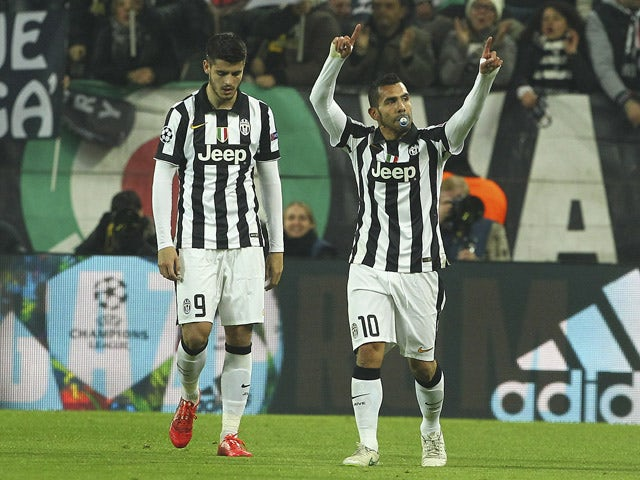 Result: Juventus earn first-leg victory