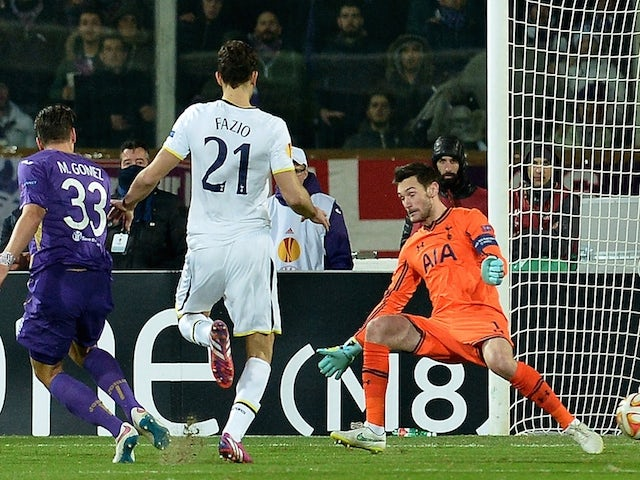 Result: Spurs knocked out by Fiorentina