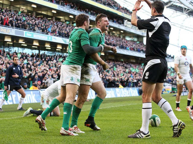 Result: Ireland defeat England to maintain unbeaten record
