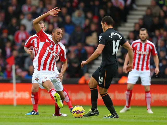 Result: Crouch heads Stoke to victory over Hull