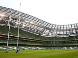 A general view of the stadium prior to kickoff during the RBS Six Nations match between Ireland and England at the Aviva Stadium on March 1, 2015