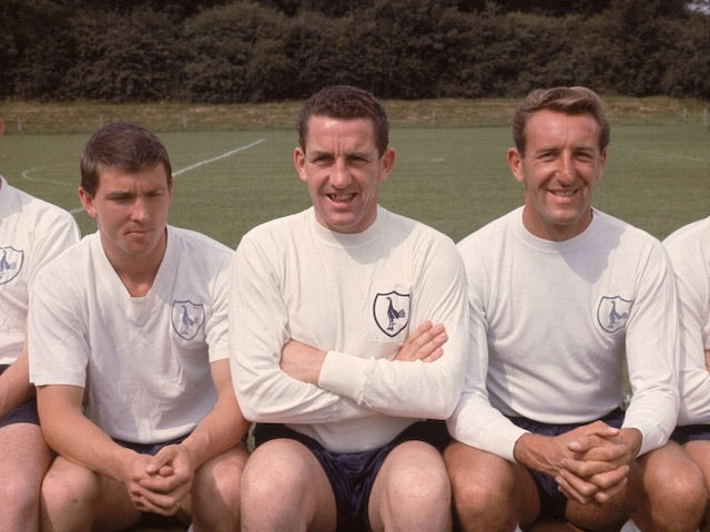 Dave Mackay of Tottenham Hotspur in 1960