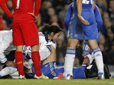 Eva Carneiro after Terry is injured during the English Premier League football match between Chelsea and Liverpool at Stamford Bridge in London, on November 11, 2012