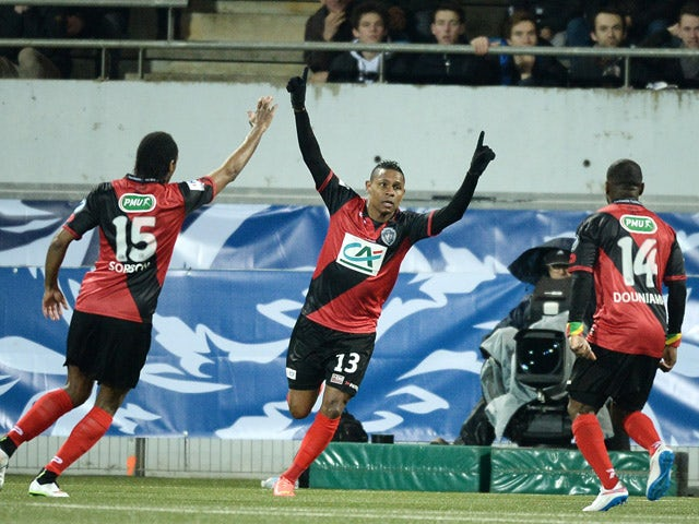 Result: Guingamp through to Coupe de France semis