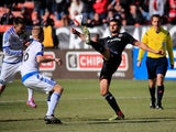 Perry Kitchen #23 of D.C. United passes the ball in front of Calum Mallace #16 of Montreal Impact during the first half at RFK Stadium on March 7, 2015