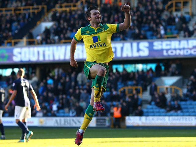 Result: Norwich stroll to victory at Millwall