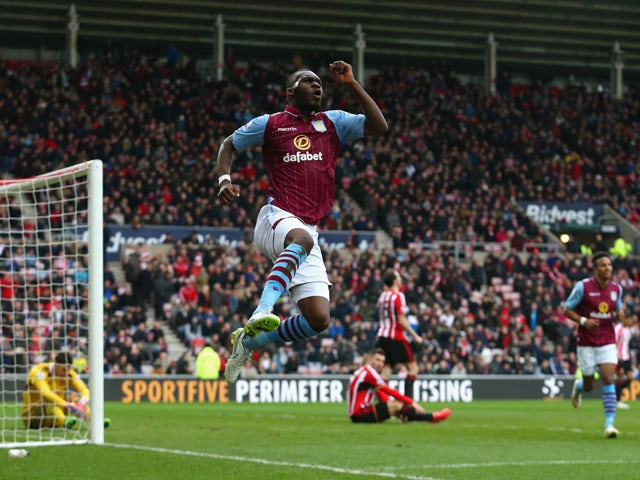 Result: Villa thrash Sunderland
