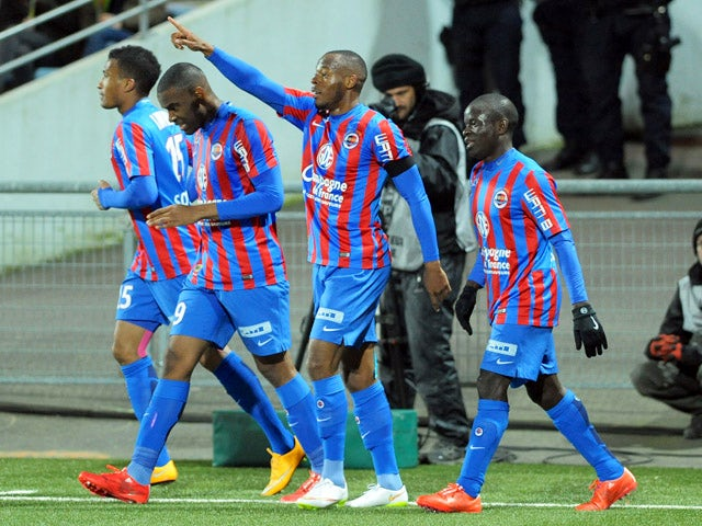 Result: Bazile brace inspires Caen win