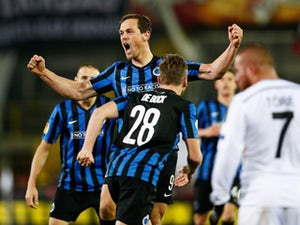 Club Brugge come from behind to defeat Besiktas