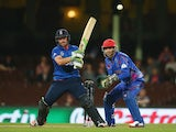 Ian Bell of England bats during the 2015 Cricket World Cup match between England and Afghanistan at Sydney Cricket Ground on March 13, 2015