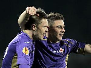 Fiorentina see off 10-man AC Milan
