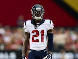 Free safety Kendrick Lewis #21 of the Houston Texans during the preseason NFL game against the Arizona Cardinals at the University of Phoenix Stadium on August 9, 2014