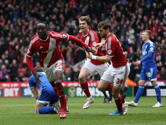 Result: Boro return to top with win over Ipswich