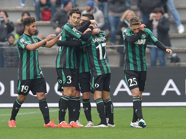 Result: Napoli stunned by Sassuolo