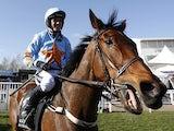 Ruby Walsh riding Un De Sceaux win The Racing Post Arkle Challenge Trophy at Cheltenham racecourse on March 10, 2015