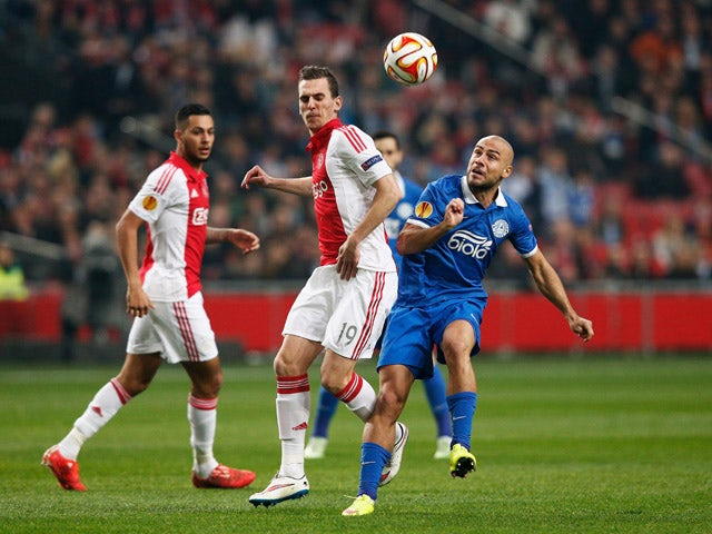 Result: Dnipro shock Ajax on away goals