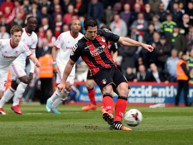 Result: Bournemouth beat Boro to go top