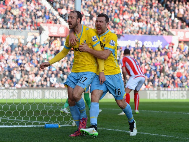 Result: Palace come from behind to beat Stoke