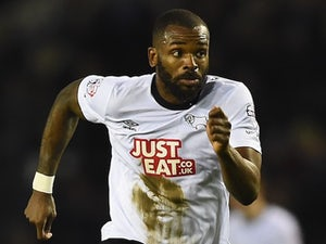 Darren Bent for Derby County on January 24, 2015