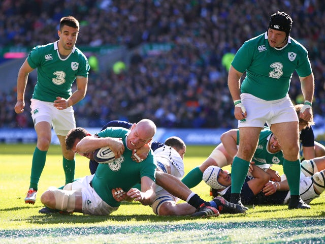 Result: Ireland cruise past Scotland