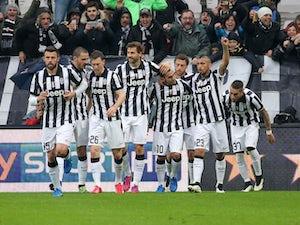Carlos Tevez nudges Juventus ahead