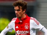 Lucas Andersen of Ajax in action during the Dutch Eredivisie match against S.B.V. Excelsior Rotterdam on March 17, 2015