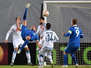 Napoli seal Europa League quarter-final spot