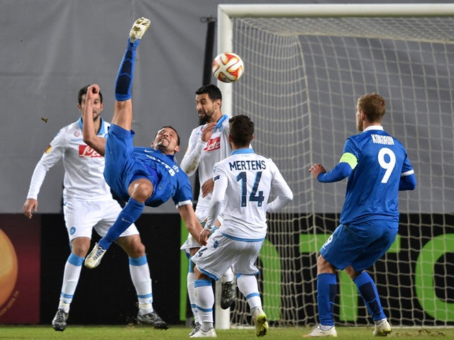 Result: Napoli seal Europa League quarter-final spot