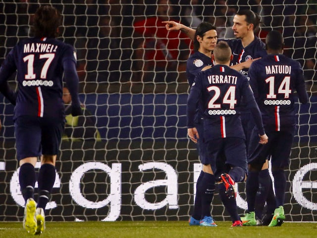 Result: PSG go top with Lille hammering