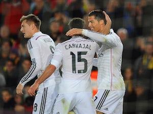 Ronaldo hat-trick puts Madrid in control