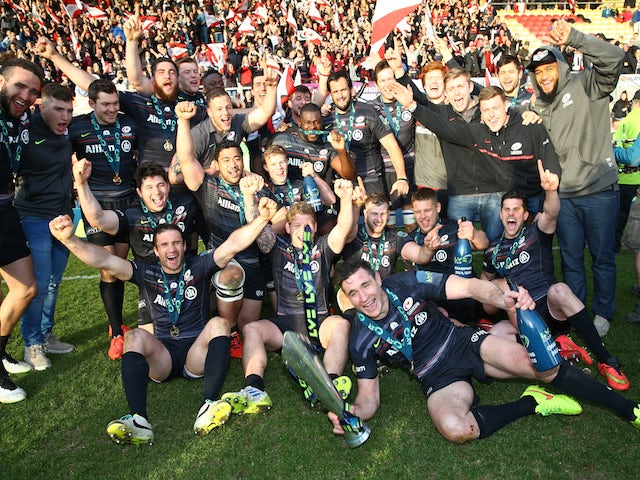 Result: Saracens win LV= Cup with final kick of game