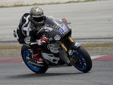 Scott Redding of Great Britain and Estrella Galicia 0,0 Marc VDS heads down a straight during the MotoGP Tests in Sepang on February 5, 2015