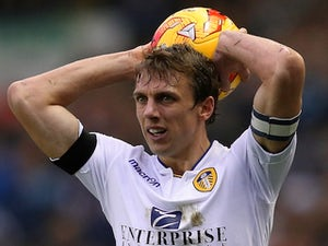 Stephen Warnock for Derby County on November 29, 2014