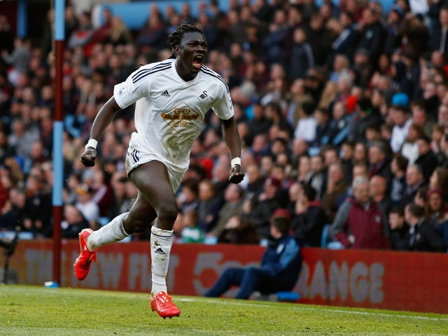 Result: Swansea leave it late to down Villa