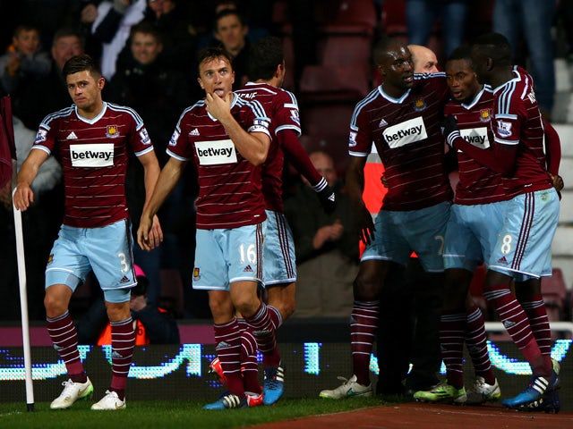 Result: Sakho strikes late as West Ham win