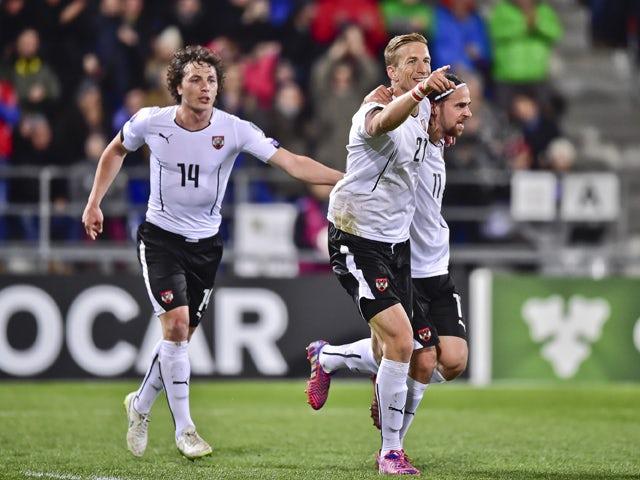 Result: Austria stroll to victory in Liechtenstein
