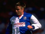 Graeme Le Saux of Blackburn Rovers in action during the Charity Shield match against Everton at Wembley Stadium on August 12, 1995