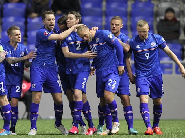 Result: Iceland go top with comeback win