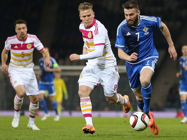 Result: Berra wins it late for Scotland