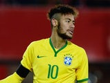 Neymar in action for Brazil on November 18, 2014