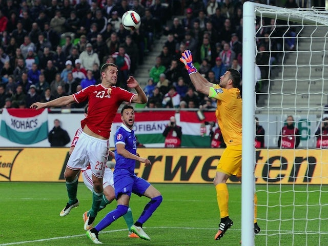 Result: Hungary, Greece play out goalless draw