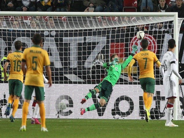 Result: Australia hold Germany in entertaining draw