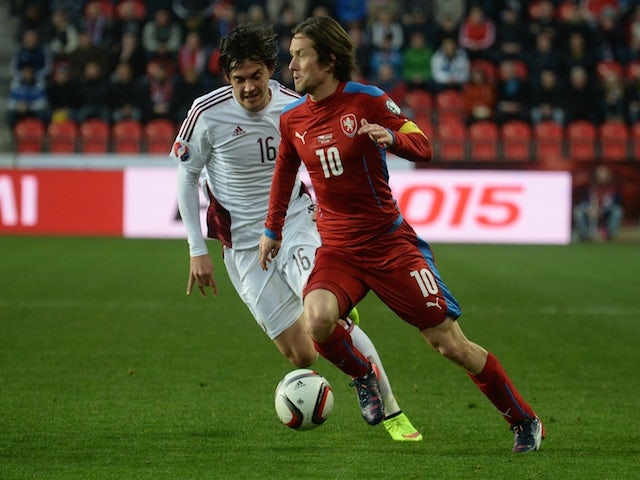 Result: Czech Republic snatch late point