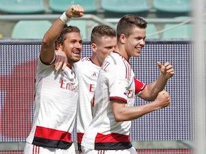 Menez fires Milan past Palermo